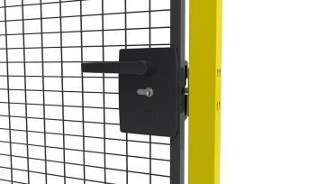Lås, Cylinderlås för alla portar, höger/vänster