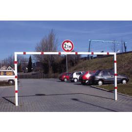 Höjdbegränsning för nedgjutning, bredd: 3000 – 6000 mm