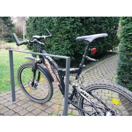 Cykelställ/avspärrningsbygel - 80x12
