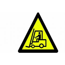 Vägmarkering - Varning Truck